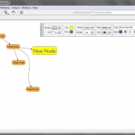 Mind map being created in VUE.