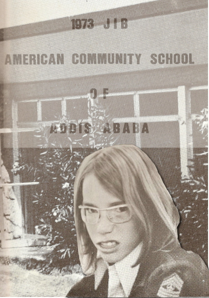 composite, high school year book and two pictures from American Community School of Addis Ababa