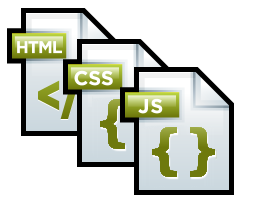 HTML, CSS and JavaScript icons